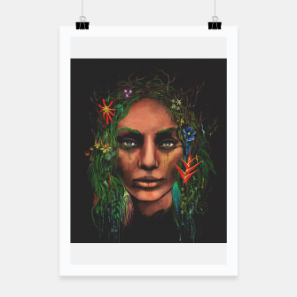 Miniatur One With Nature | The Rainforest Poster, Live Heroes