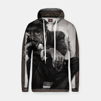 Thumbnail image of Leonard Cohen Cotton hoodie, Live Heroes