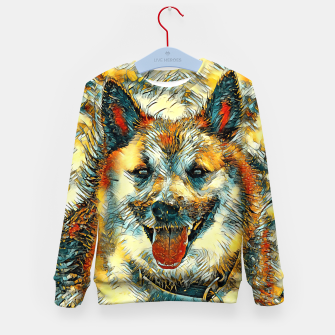 Thumbnail image of AnimalArt_Dog_20170804_by_JAMColors Kid's sweater, Live Heroes