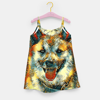 Thumbnail image of AnimalArt_Dog_20170804_by_JAMColors Girl's dress, Live Heroes