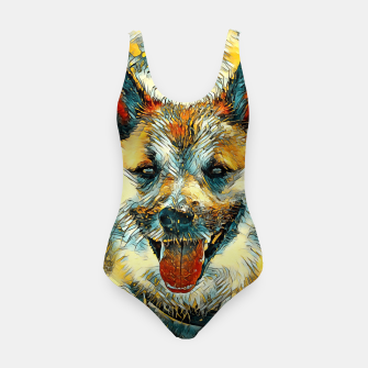 Thumbnail image of AnimalArt_Dog_20170804_by_JAMColors Swimsuit, Live Heroes