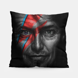 Thumbnail image of David Bowie Pillow, Live Heroes