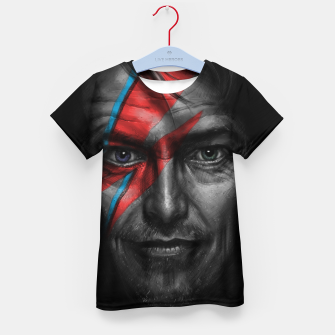 Thumbnail image of David Bowie Kid's t-shirt, Live Heroes