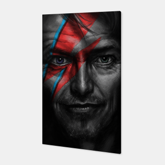 Thumbnail image of David Bowie Canvas, Live Heroes