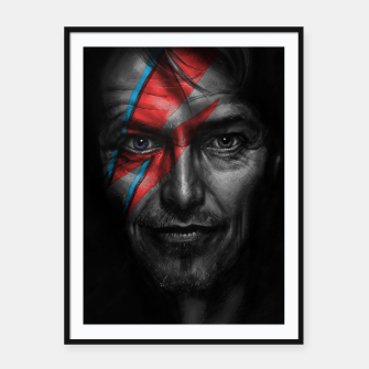 Thumbnail image of David Bowie Framed poster, Live Heroes
