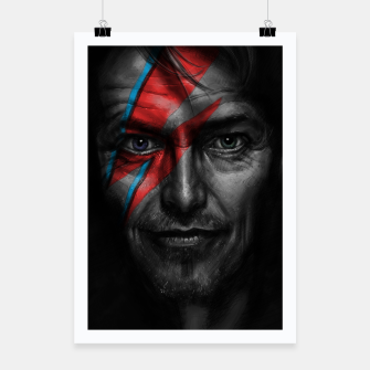 Thumbnail image of David Bowie Poster, Live Heroes