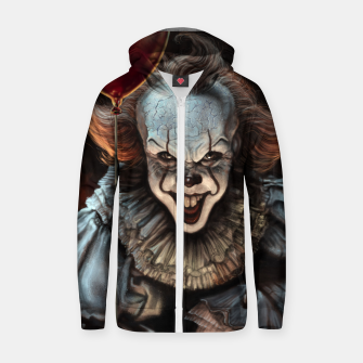 Thumbnail image of Pennywise Cotton zip up hoodie, Live Heroes
