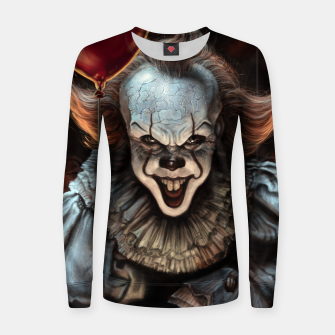 Thumbnail image of Pennywise Woman cotton sweater, Live Heroes