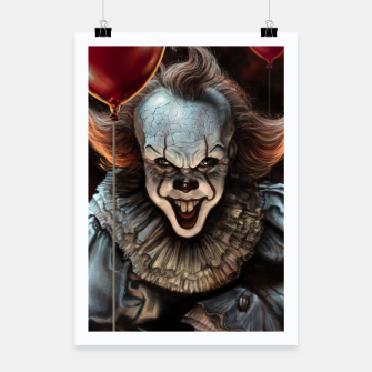 Thumbnail image of Pennywise Poster, Live Heroes