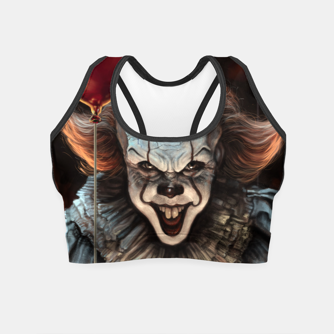 Image of Pennywise Crop Top - Live Heroes