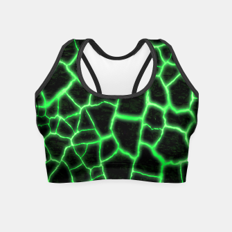 Miniatur Green Inferno Magma Crop Top, Live Heroes
