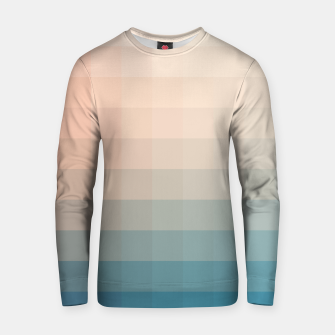Miniaturka Lumen, Turquoise and Pink Glow Cotton sweater, Live Heroes