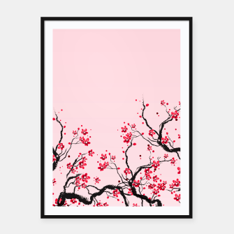 Miniaturka Cherry Blossom Framed poster, Live Heroes