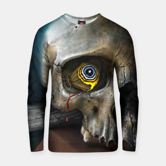 Thumbnail image of Butterfly Skull Cotton sweater, Live Heroes