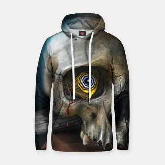 Thumbnail image of Butterfly Skull Cotton hoodie, Live Heroes