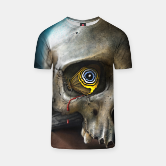 Thumbnail image of Butterfly Skull T-shirt, Live Heroes