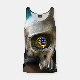Thumbnail image of Butterfly Skull Tank Top, Live Heroes