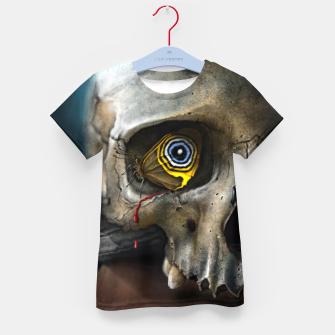Thumbnail image of Butterfly Skull Kid's t-shirt, Live Heroes