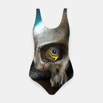 Thumbnail image of Butterfly Skull Swimsuit, Live Heroes