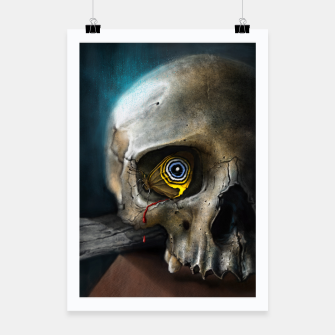 Thumbnail image of Butterfly Skull Poster, Live Heroes
