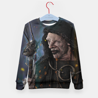 Thumbnail image of The Seer Kid's sweater, Live Heroes