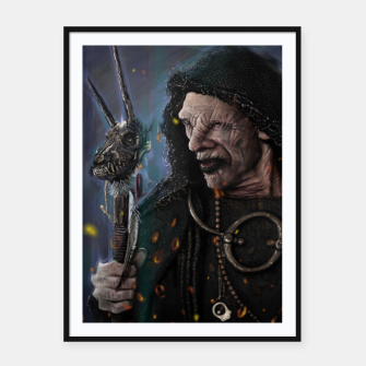 Thumbnail image of The Seer Framed poster, Live Heroes