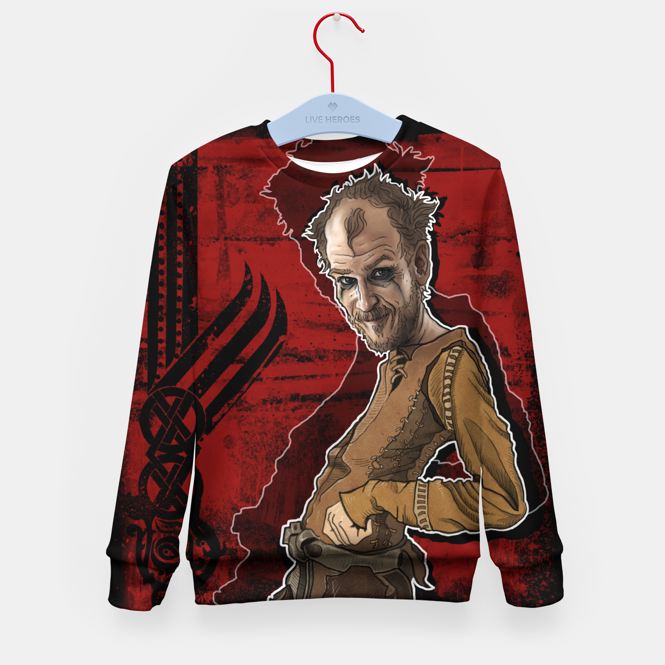 Image of Floki I Kid's sweater - Live Heroes