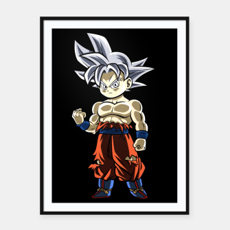 Thumbnail image of Chibi Ultra instinct Cartel con marco, Live Heroes