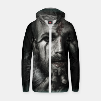 Floki III Cotton zip up hoodie thumbnail image