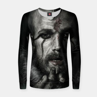 Thumbnail image of Floki III Woman cotton sweater, Live Heroes