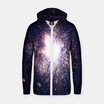Miniaturka Galaxy Space Eye Of the Universe Cotton zip up hoodie, Live Heroes
