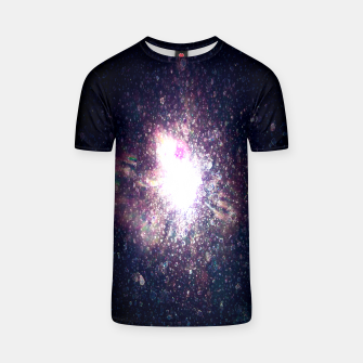 Miniaturka Galaxy Space Eye Of the Universe T-shirt, Live Heroes