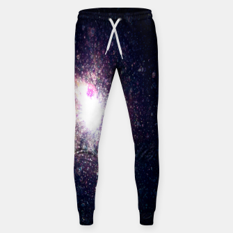 Miniatur Galaxy Space Eye Of the Universe Cotton sweatpants, Live Heroes
