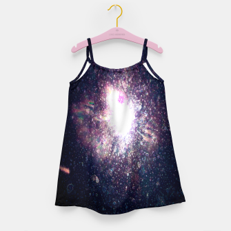 Miniaturka Galaxy Space Eye Of the Universe Girl's dress, Live Heroes