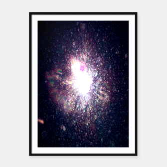 Miniaturka Galaxy Space Eye Of the Universe Framed poster, Live Heroes