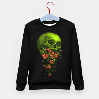 Thumbnail image of Vomit Kid's sweater, Live Heroes