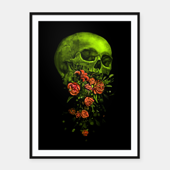Thumbnail image of Vomit Framed poster, Live Heroes