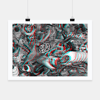 Miniaturka anaglyph 3D join 3puck Poster, Live Heroes