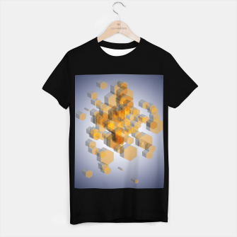 Thumbnail image of 3D Hexagon BG V T-shirt regular, Live Heroes