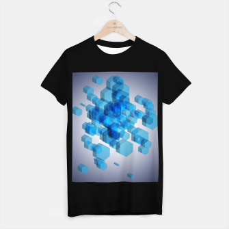 Thumbnail image of 3D Hexagon BG VI T-shirt regular, Live Heroes