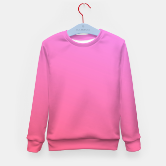 Thumbnail image of Pink to Rose Ambient Kid's sweater, Live Heroes