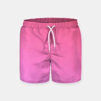 Thumbnail image of Pink to Rose Ambient Swim Shorts, Live Heroes