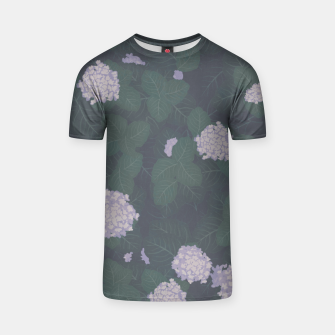 Thumbnail image of Full Hydrangeas in Blue T-shirt, Live Heroes