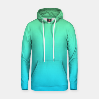 Thumbnail image of Great Green to Sky Blue Ambient Cotton hoodie, Live Heroes