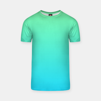 Thumbnail image of Great Green to Sky Blue Ambient T-shirt, Live Heroes