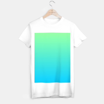Thumbnail image of Great Green to Sky Blue Ambient T-shirt regular, Live Heroes