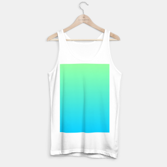 Miniatur Great Green to Sky Blue Ambient Tank Top regular, Live Heroes