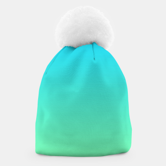 Miniaturka Great Green to Sky Blue Ambient Beanie, Live Heroes