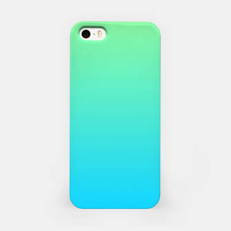 Miniaturka Great Green to Sky Blue Ambient iPhone Case, Live Heroes