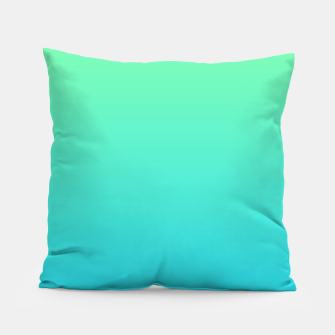 Miniaturka Great Green to Sky Blue Ambient Pillow, Live Heroes